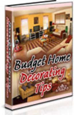 Product picture Budget Home Decorating Tips