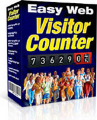 Product picture Easy Web Visitor Counter