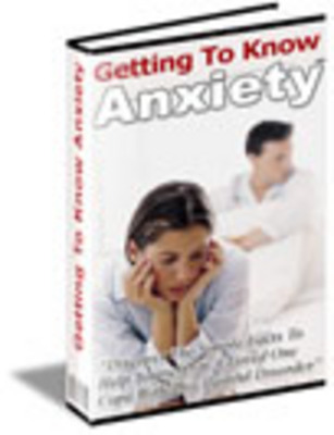 Product picture Getting To Know Anxiety
