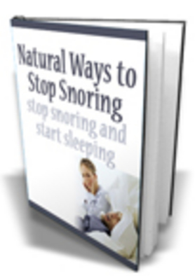 Product picture Natural Ways To Stop Snoring