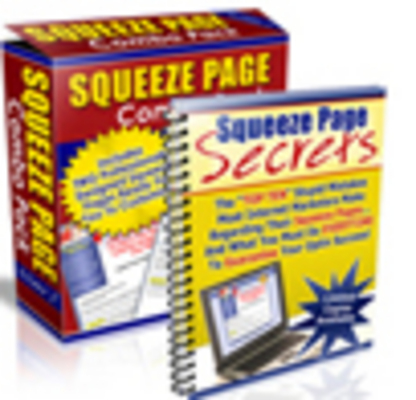 Product picture Squeeze Page System