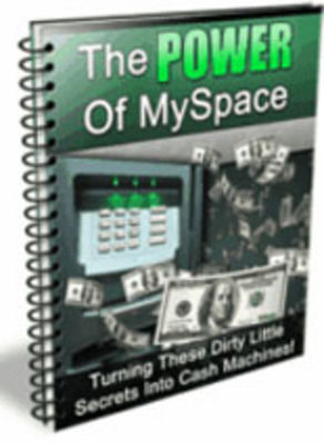 Product picture The Power Of MySpace